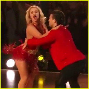 Paige VanZant Scores a 30 for Fusion Dance on 'DWTS' Finale (Video)