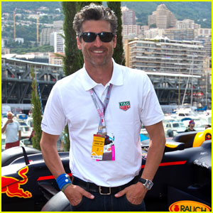 Patrick Dempsey Hangs Out At Monaco Formula One Grand Prix Patrick