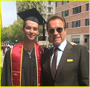 Arnold Schwarzenegger Shares Message For Son Patrick After USC Graduation