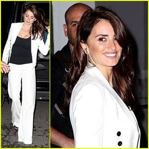 Penelope Cruz Promotes New Movie 'Ma Ma' in NYC