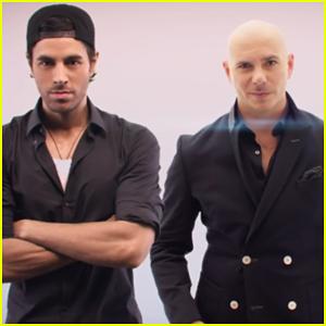 Pitbull & Enrique Iglesias Premiere 'Messin' Around' Music Video!
