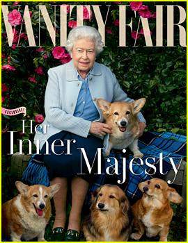 Queen Elizabeth Covers 'Vanity Fair' with Her Beloved Dogs!