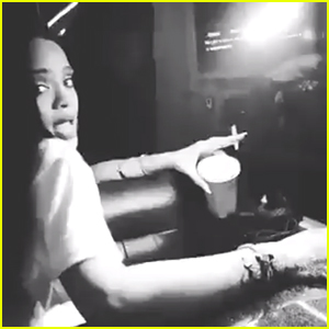 Rihanna & Glam Squad Dance to 'This Is What You Came For' - Watch Now!