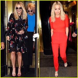 Rita Ora Hangs Out in New York City Before Met Gala 2016