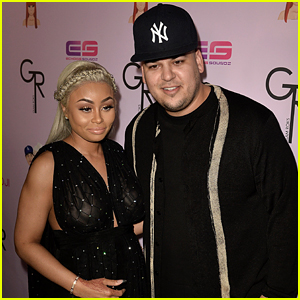 Rob Kardashian & Pregnant Blac Chyna Make a Red Carpet Appearance