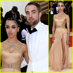 Robert Pattinson & Fiancee FKA twigs Are a Classy Couple at Met Gala 2016!