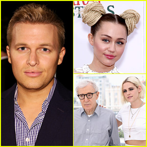 Ronan Farrow Calls Out Kristen Stewart & Many Others for Collaborating with His Dad Woody Allen