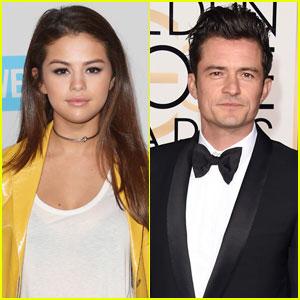 Selena Gomez & Orlando Bloom Leave Vegas Club Together in New Video