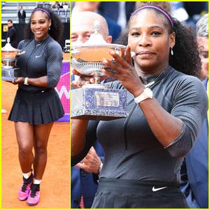 Serena Williams Wins Italian Open 2016 in Rome