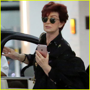 Sharon Osbourne Heads to Lunch Sans Wedding Ring