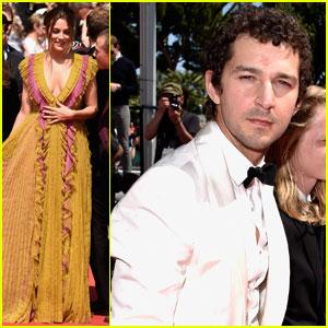 Shia LaBeouf & Riley Keough Bring 'American Honey' to Cannes