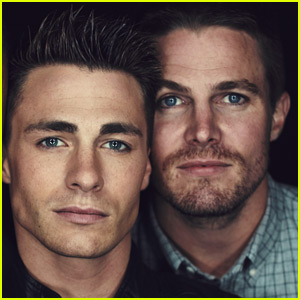 Stephen Amell Sends Love to Colton Haynes After Coming Out