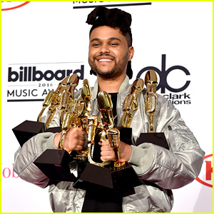 The Weeknd Wins Big at Billboard Music Awards 2016!