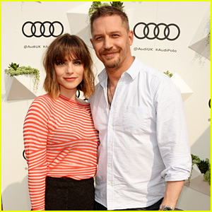 Tom Hardy & Charlotte Riley Cheer on Teams at Audi Polo Challenge