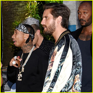 Tyga Parties with Scott Disick in Cannes Following His Split with Kylie Jenner
