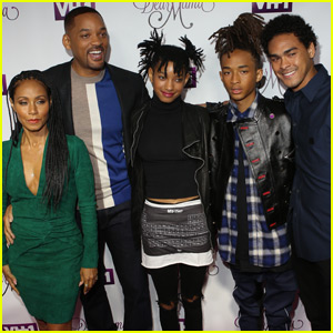 Will Smith Brings the Whole Family to 'Dear Mama' Premiere