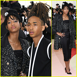 Willow & Jaden Smith Team Up for Red Carpet at Met Gala 2016