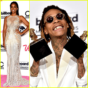 Wiz Khalifa Wins at Billboard Music Awards, Kelly Rowland Stuns on Red Carpet