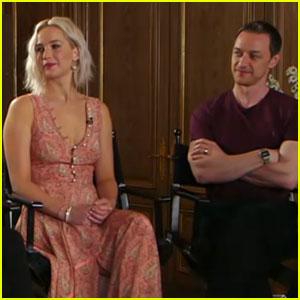 Jennifer Lawrence & 'X-Men: Apocalypse' Stars Stop By 'Good Moring America' (Video)