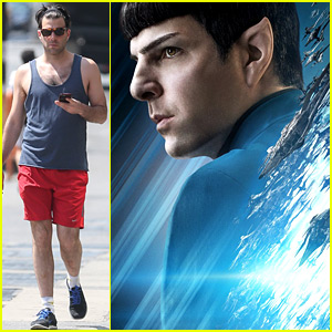 Zachary Quinto Gets a New 'Star Trek' Character Poster