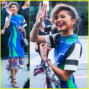 Zendaya Stole The LV Cruise Collection Fashion Show With A Stunning Summer Look