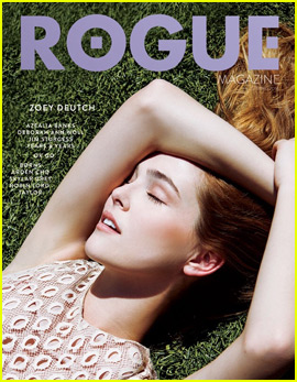 Zoey Deutch Is 'Rogue' Magazine's Cover Girl (Exclusive)