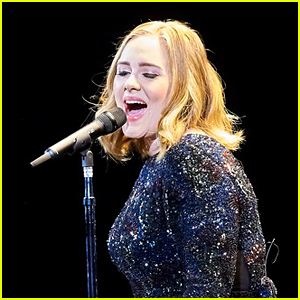 Adele Sings Spice Girls Song at Her Concert - Watch Now!