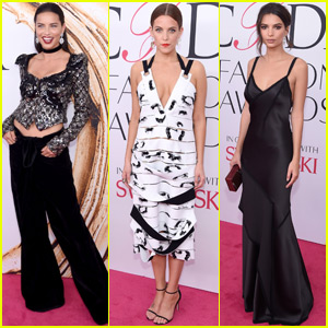 Adriana Lima & Emily Ratajkowski Step Out For CFDA 2016