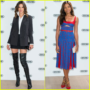 Alessandra Ambrosio & Naomie Harris Are Stunning Rimowa Store Opening Ladies!