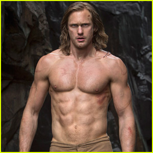 Alexander Skarsgard's Abs Are Totally Insane in New 'Legend of Tarzan' Photos!