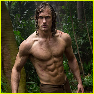 Alexander Skarsgard's Abs Are Front & Center in New Shirtless 'Legend of Tarzan' Photo!