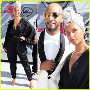 Alicia Keys & Husband Swizz