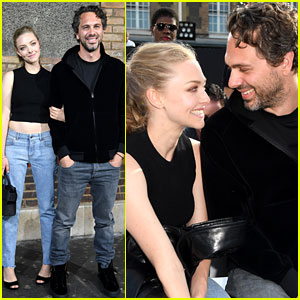 Amanda Seyfried & Thomas Sadoski Couple Up at Givenchy Show in Paris