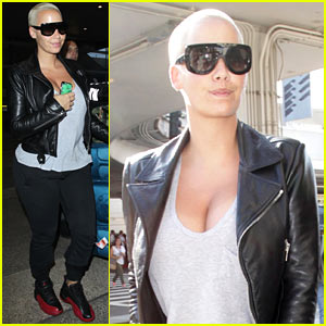 Amber Rose Face Swaps with 'Coolest Actor Ever' Samuel L. Jackson!