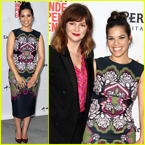 America Ferrera Supports 'Sister' Amber Tamblyn's Directorial Debut at LA Film Festival!