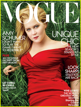 Amy Schumer Talks About Being in Love for New 'Vogue' Cover