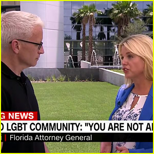 Anderson Cooper Grills Florida AG Pam Bondi on LGBT Support
