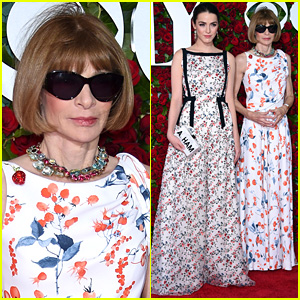 Anna Wintour Is Wearing Sunglasses Inside the Tony Awards 2016