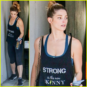 Ashley Greene Plays Hide & Seek With Her Adorable Dog!