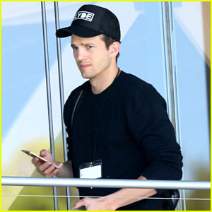 Ashton Kutcher Spotted Out & About After Pregnancy News