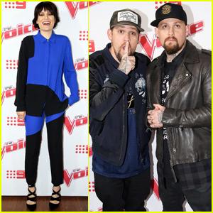 Benji & Joel Madden Kick Off 'The Voice Australia' With Jessie J