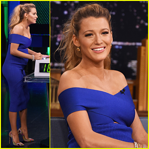 Blake Lively Plays Know It All with Jimmy Fallon! (Video)