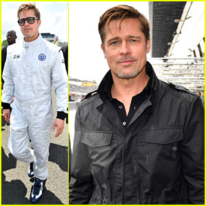 Brad Pitt Becomes a Race Car Driver at Le Mans 24 Hours