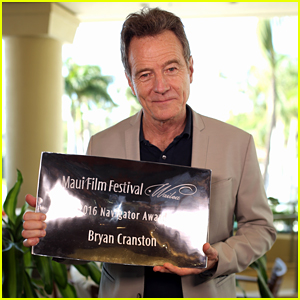Bryan Cranston Honored With Navigator Award at Maui Film Festival