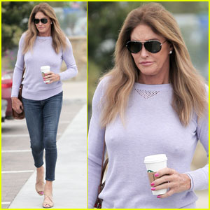Caitlyn Jenner Heads Out on a Malibu Coffee Run