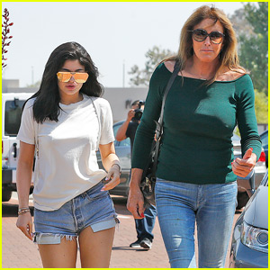 Caitlyn & Kylie Jenner Have a 'Father-Daughter Day'