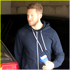 Calvin Harris Return to Los Angeles After Quick Vegas Stop