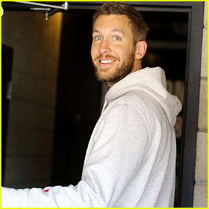 Calvin Harris Is All Smiles Despite Feeling 'Betrayed' by Taylor Swift