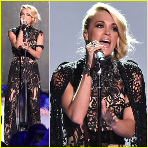 Carrie Underwood Belts Out