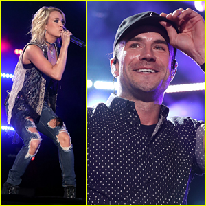 Carrie Underwood & Sam Hunt Rock CMA Music Festival 2016